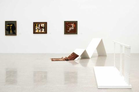 Ausstellung Die Gegenwart der Moderne (mumok) - blindbild