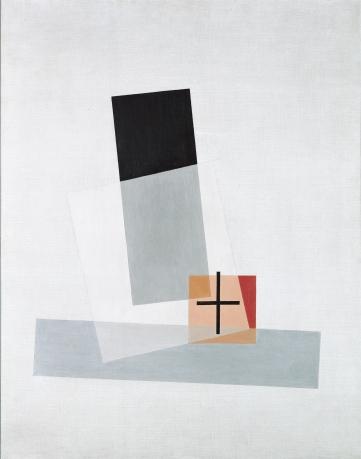 László Moholy-Nagy, »Composition Q VIII«, 1922