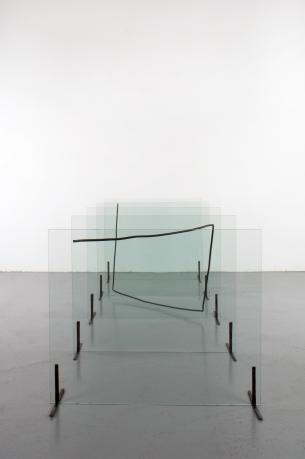 Peter Weibel, »Gequältes Quadrat«, 1975