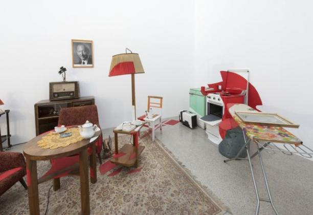 Peter Weibel, »Österreich-Zimmer, 1982