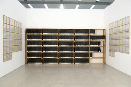Hanne Darboven, »Ein Jahrhundert (Bücherei)« , 1970–1971