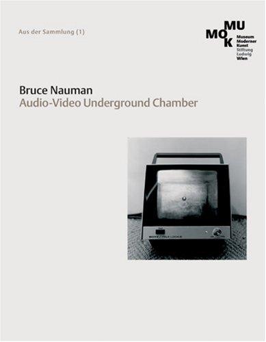Publikationscover von Bruce Nauman. Audio-Video Underground Chamber