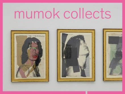 Mehrere Portraits von Mick Jagger nebeneinander
