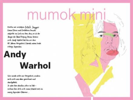ein Bild von Andy Warhols Mick Jagger