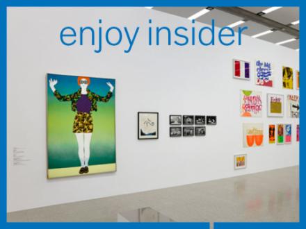 Ausstellungsansicht Enjoy
