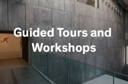 Book guided tours and workshops