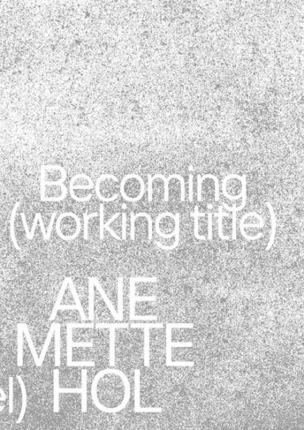 Cover der Publikation Ane Mette Hol. Im Werden (Arbeitstitel)