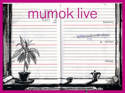 Zeichnungen auf Kalenderblättern