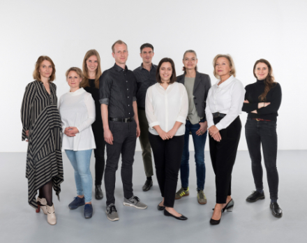Teamfoto des Ausstellungsmanagement