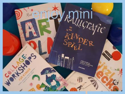 Verschiedene bunte Buchcover