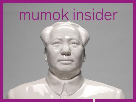 Keramikbüste Mao