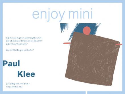 Mitmachseite für Kinder mit der Vogelscheuche von Paul Klee