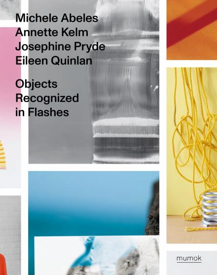 Bunte Collage aus Bildern der Künstler in den Farben Gelb, Rosa, Blau, grau un dRot