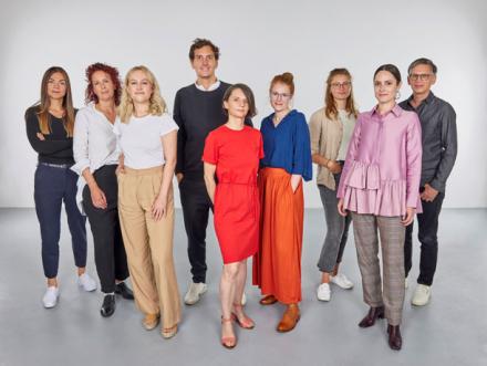 Gruppenbild vom Marketing-Team