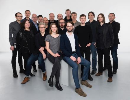 Das Teamfoto der Abteilung Betrieb und Technik