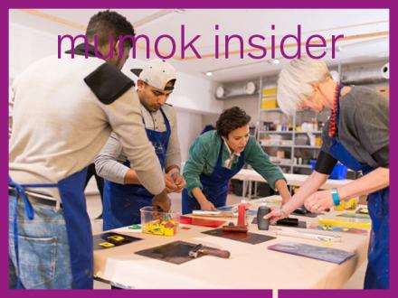 Personen im mumok Atelier